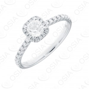 18 Karat Solitaire Ring