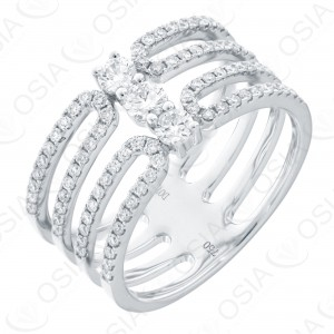 18 KARAT DIAMOND RING